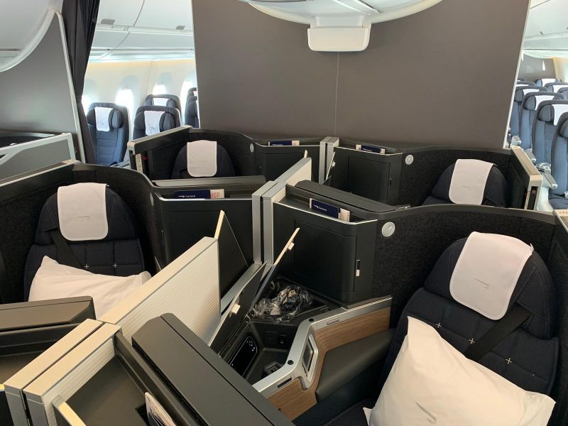 BA Club Suite rear cabin