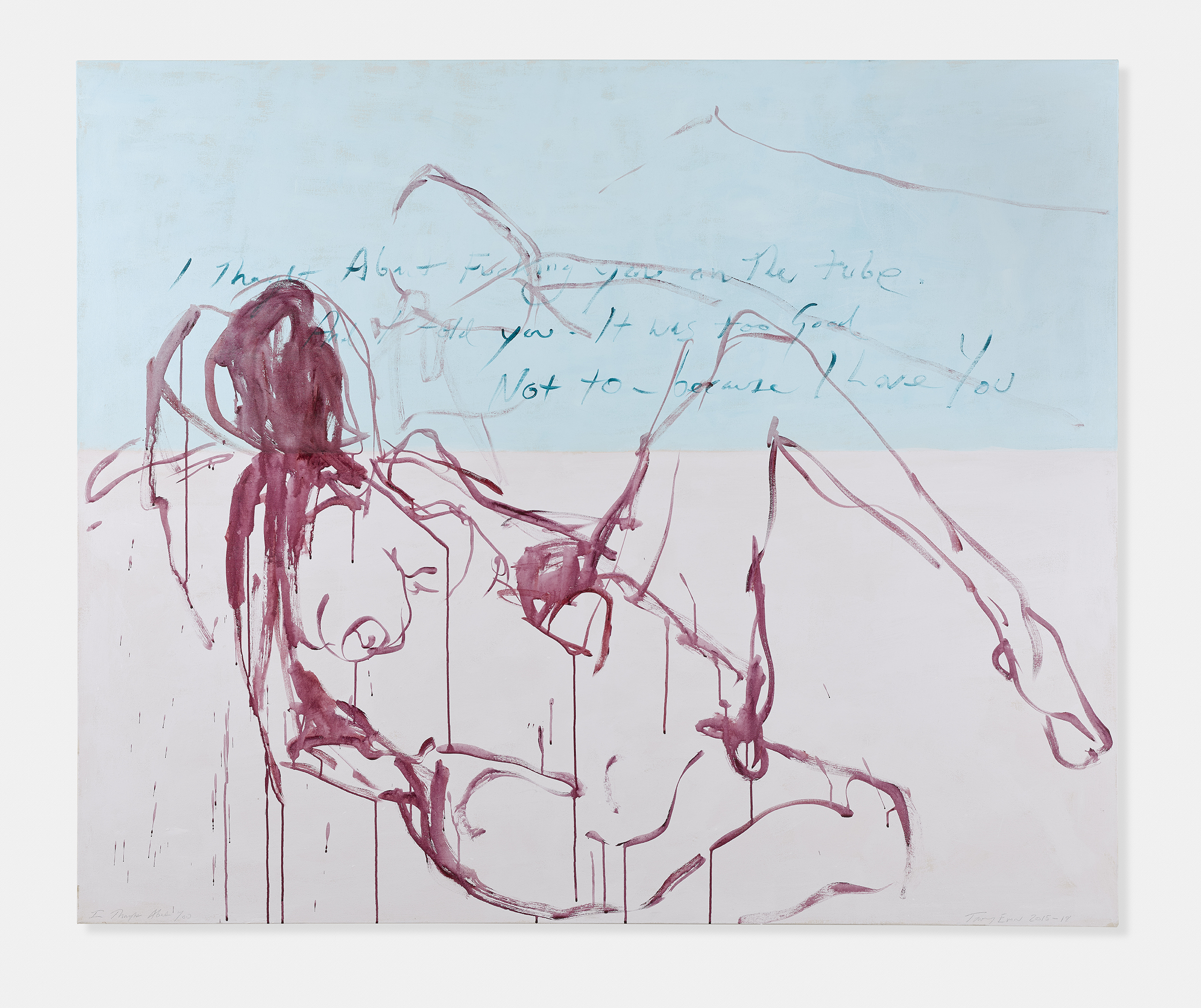 Courtesy Tracey Emin studio.