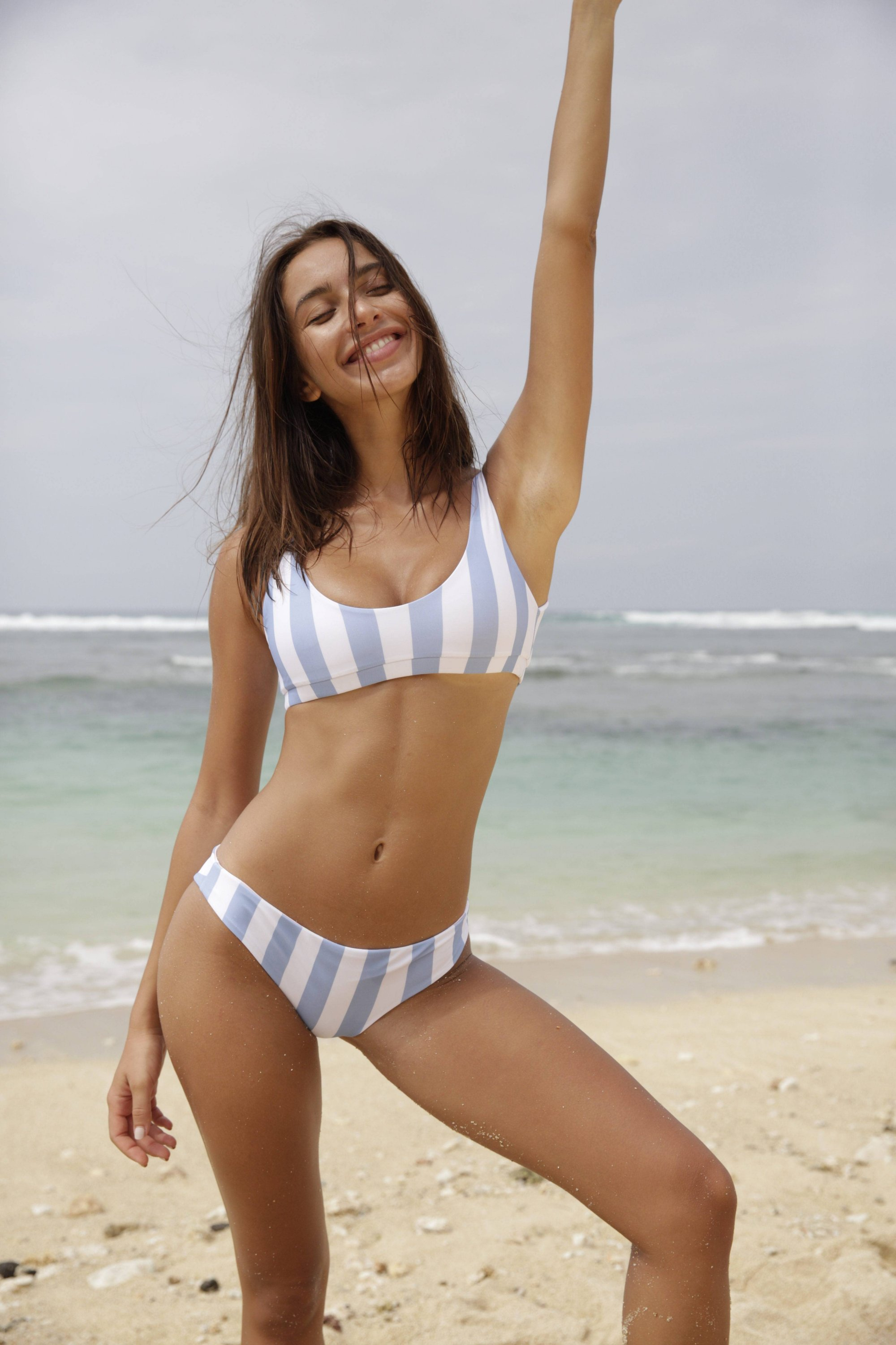 Marble Swimwear - Sasha Top and Mistral Bottoms Serenity Blue Stripes.jpg