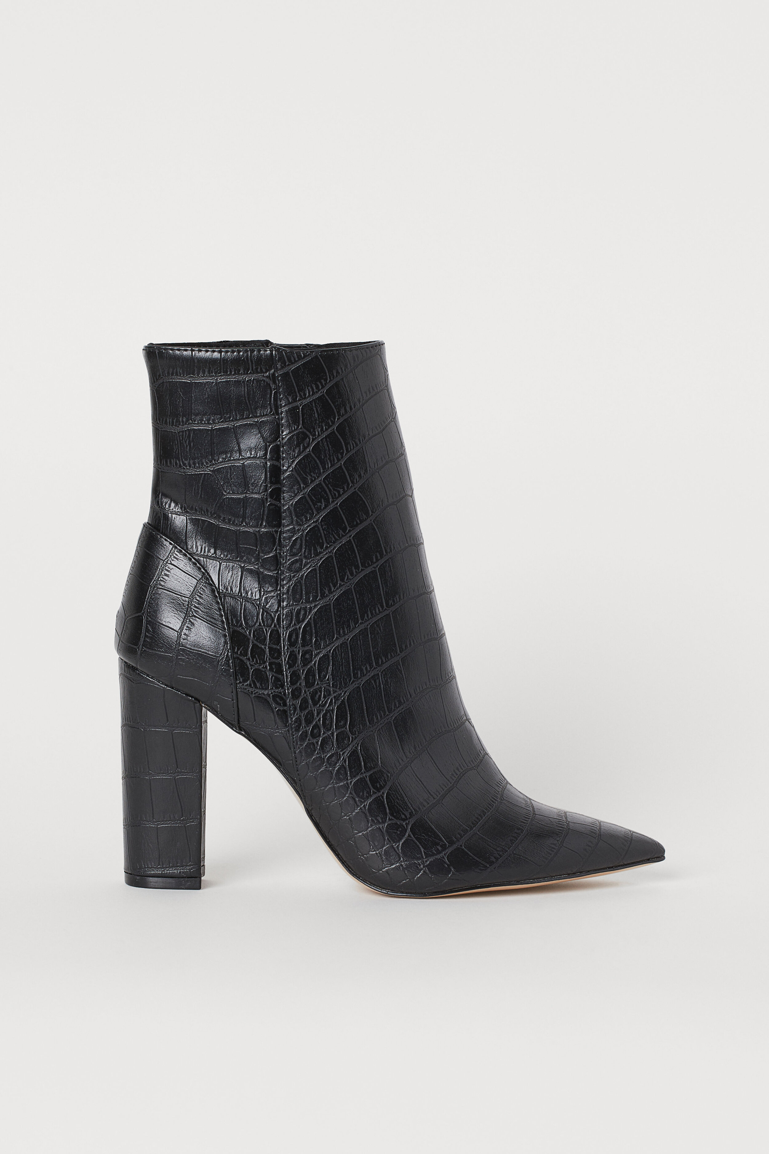 HM CROCADILE PATTERN ANKLE BOOTS 39.99.jpg