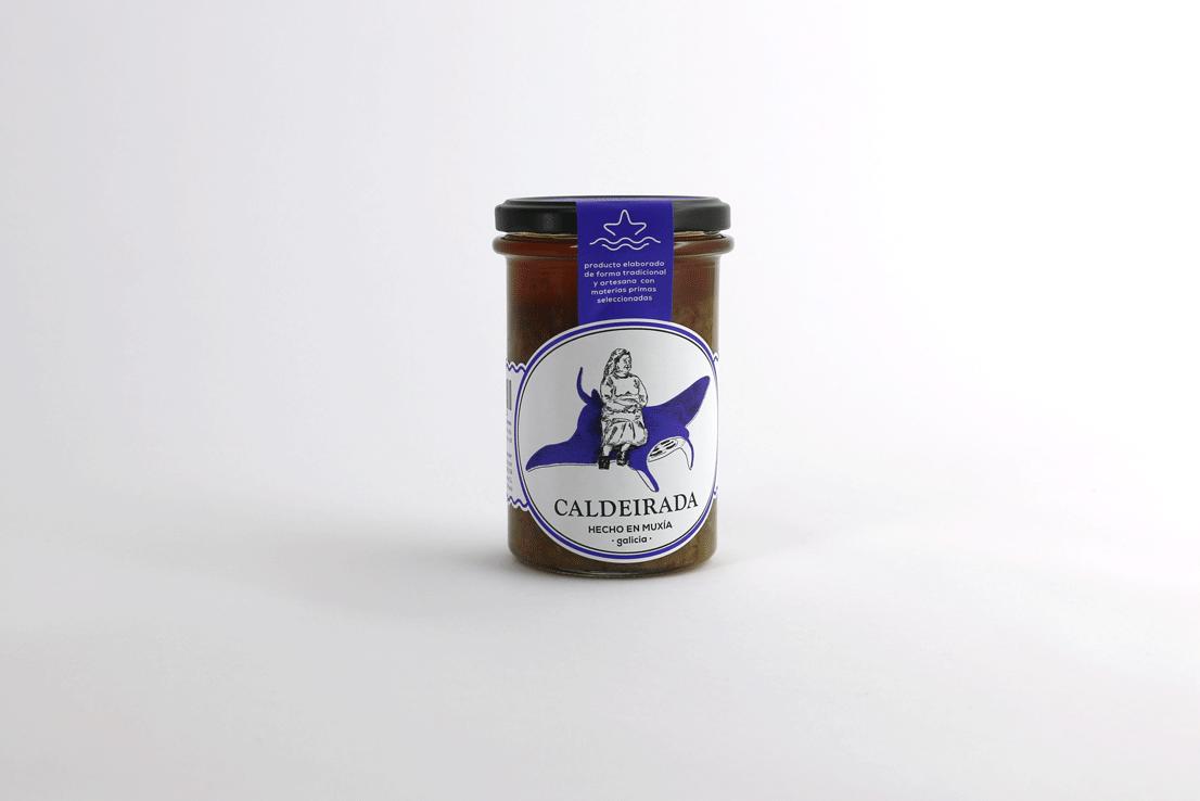 SALSA CALDEIRADA - La salsa mas apropiada para hacer un guiso de pescado, tiene su origen en la tradición marinera de la Costa da Morte, ideal para guisar cualquier tipo de pescado.RECETAS COMPRAR