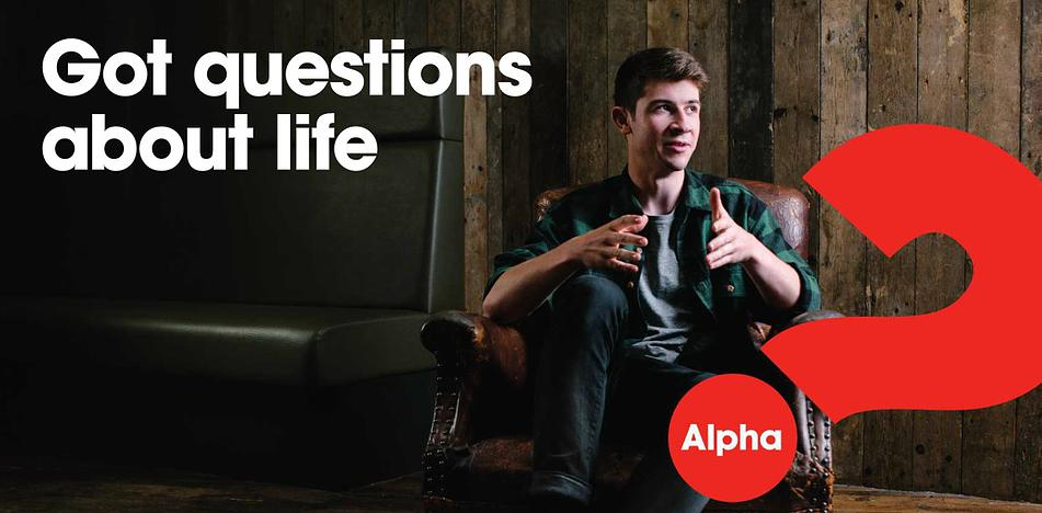 Alpha - Alpha is a series of interactive sessions that freely explore the basics of the Christian faith.