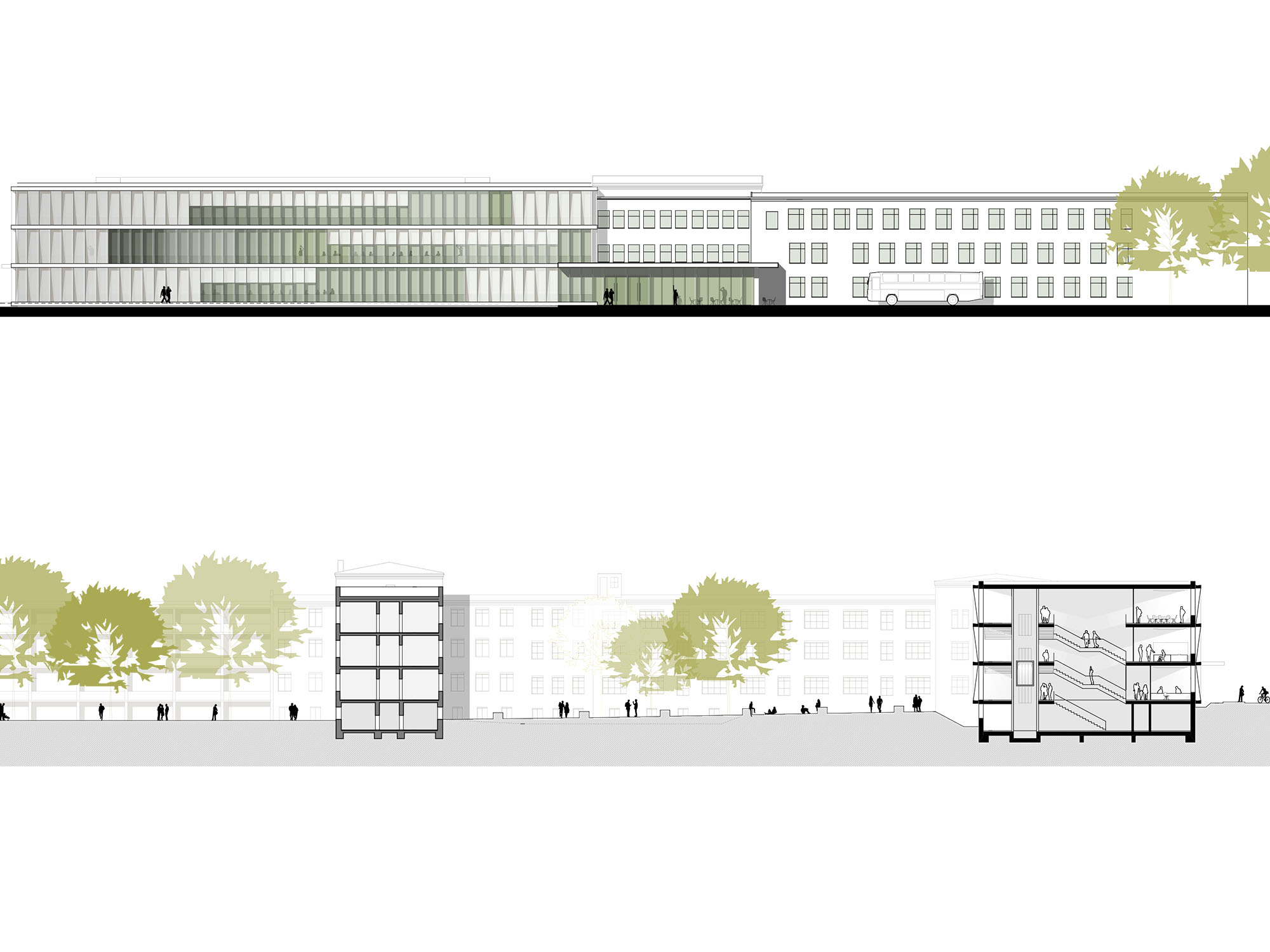 Forschungsgebäude am Robert-Rössle-Institut, Campus Berlin-Buch