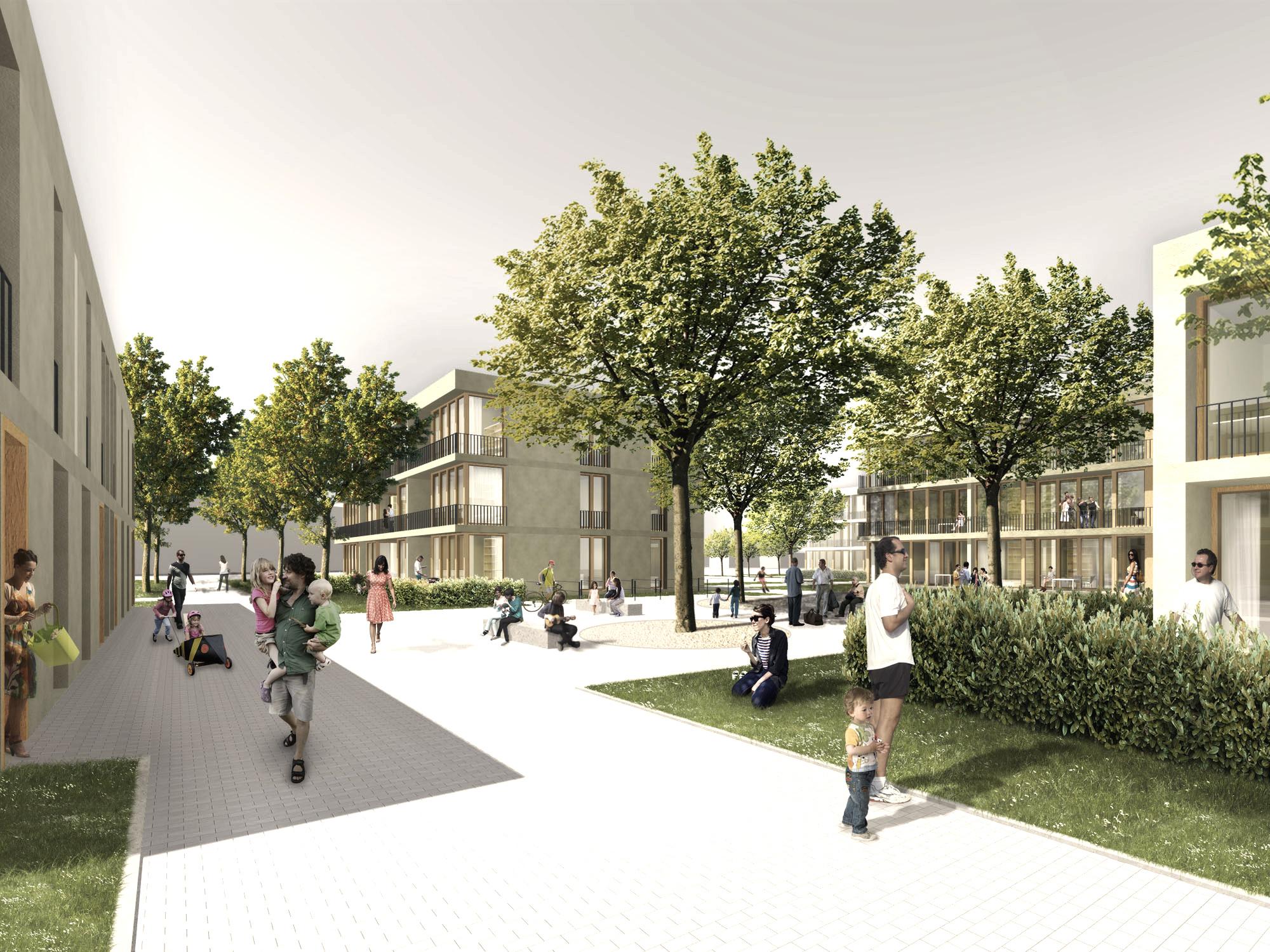 Wohnbebauung Bailey Park II in Hameln