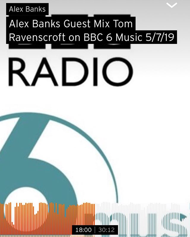 My guest mix for @tomravo show on @bbc6music is now up on Soundcloud . Feat music from @robotkoch @shed030 @haaihaaihaai @overmono_uk @jinjemusic @danielmarkavery . . Link in bio... . #techno #electronica #djmix #electronicmusic #electronica #monkeytown #mesh . . https://soundcloud.com/alexbanksmusic/alex-banks-guest-mix-tom-ravenscroft-on-bbc-6-music-5719