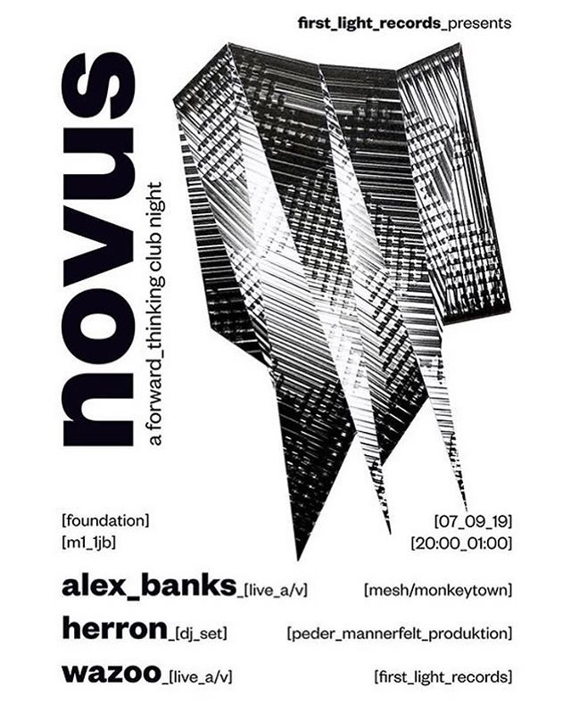 Showcasing my brand new A/V Live show in Manchester next week at @fdncoffee for @first_light_records . Book tickets on link in bio... . #techno #manchester #manchestermusic #liveelectronicmusic #liveelectronica #alexbanks #alexbanksmusic