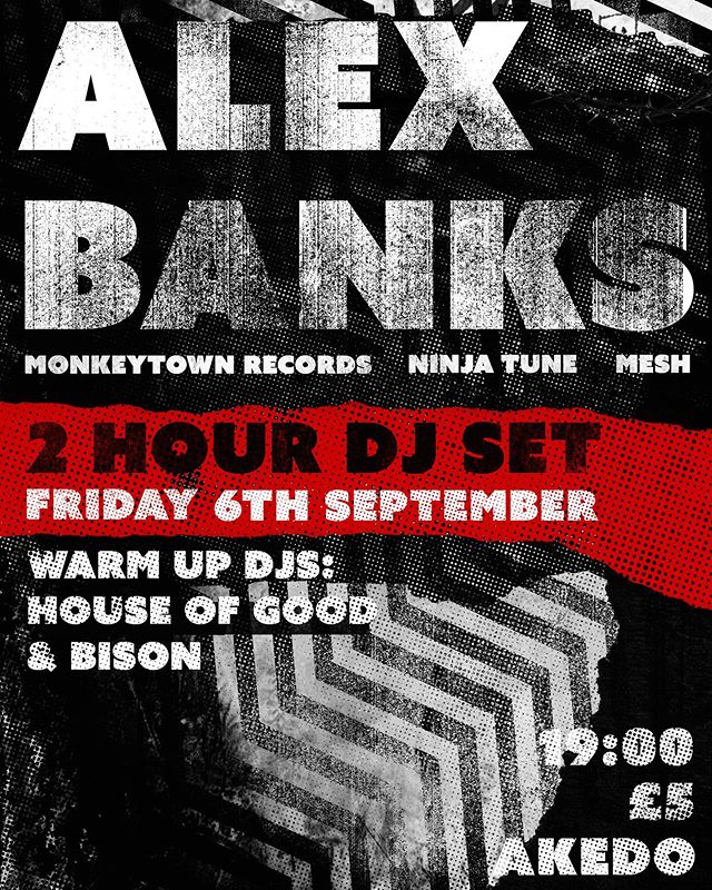Playing a 2 hour DJ Set in Lincoln tonight. £5 on the door . @akedogamingbarlincoln . #techno #electronica #alexbanks #mesh