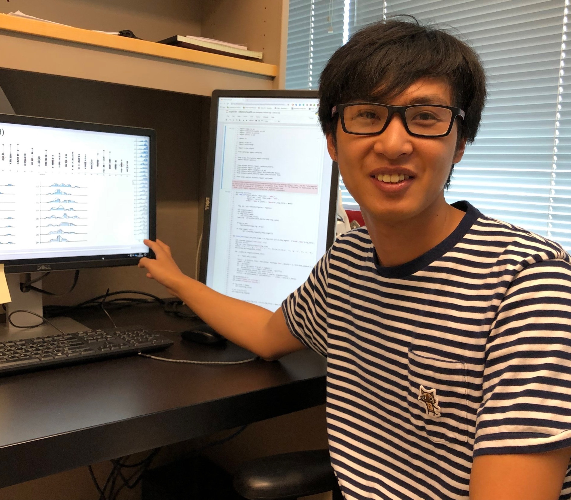 - Ben-Zheng LiBen-Zheng is an electrical engineering student from the University of Macau and is interested in neural circuit simulation, signal/data analysis, and closed-loop optogenetic control. He is currently working on modeling auditory and olfactory systems using spiking neural networks. Ben is co-advised by Dr. Tim Lei.