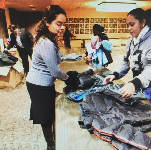 Nonprofits & companies team up on coat giveaway in Reading