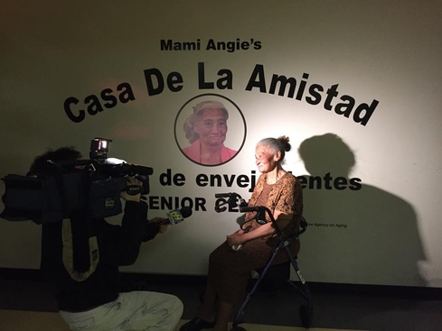 Ceremony honors woman who helped create Hispanic Center