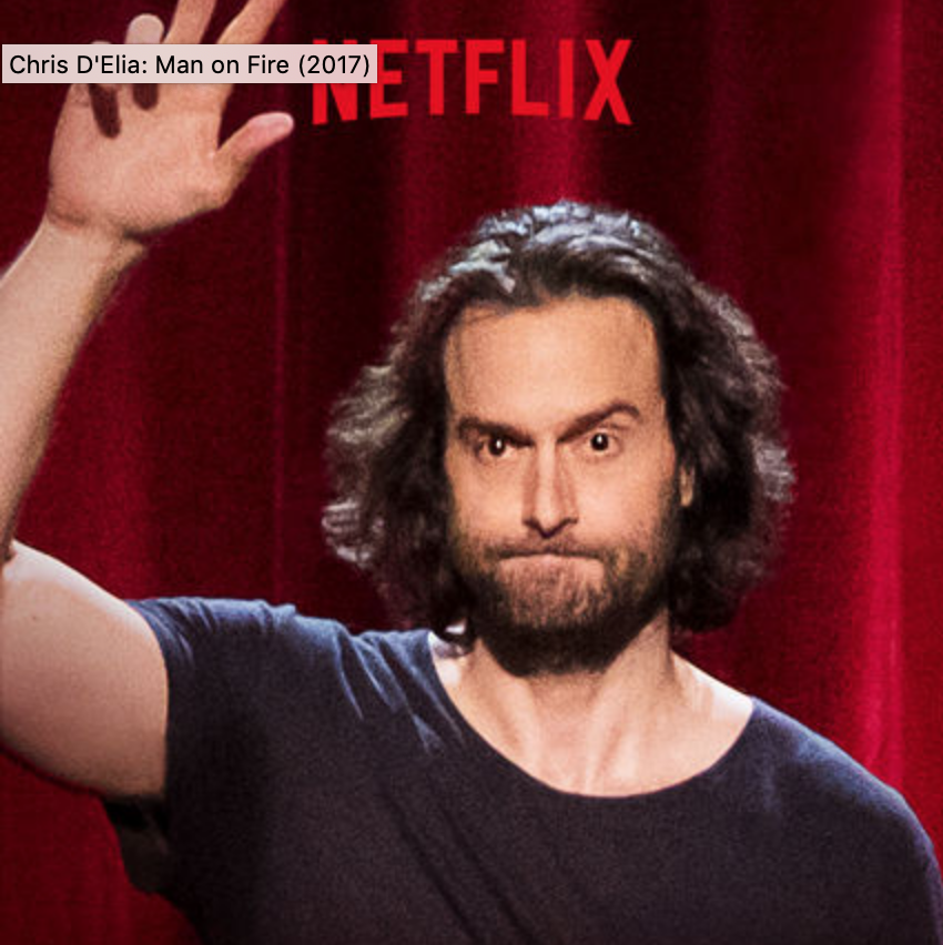 """Chris D'Elia x Netflix """"Man on Fire""""  Music composed by Mr. Green  Directed by Bill D'Elia"""