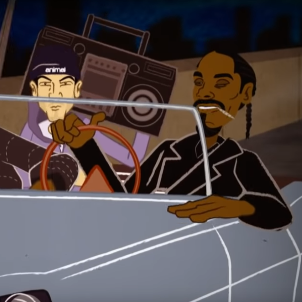 Snoop Dogg  Produced by Mr. Green  Written by Burnt MD, Pacewon and Snoop  Animated by Eric Hans King
