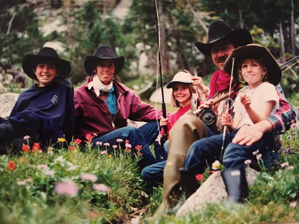 Jim, Mary, Christin, Holly and Jessie Allen - 1996