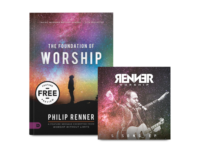 5 Songs + Mini Book - Download your free copy of The Foundation of Worship along witha 5-Song sampler from Renner Worship.