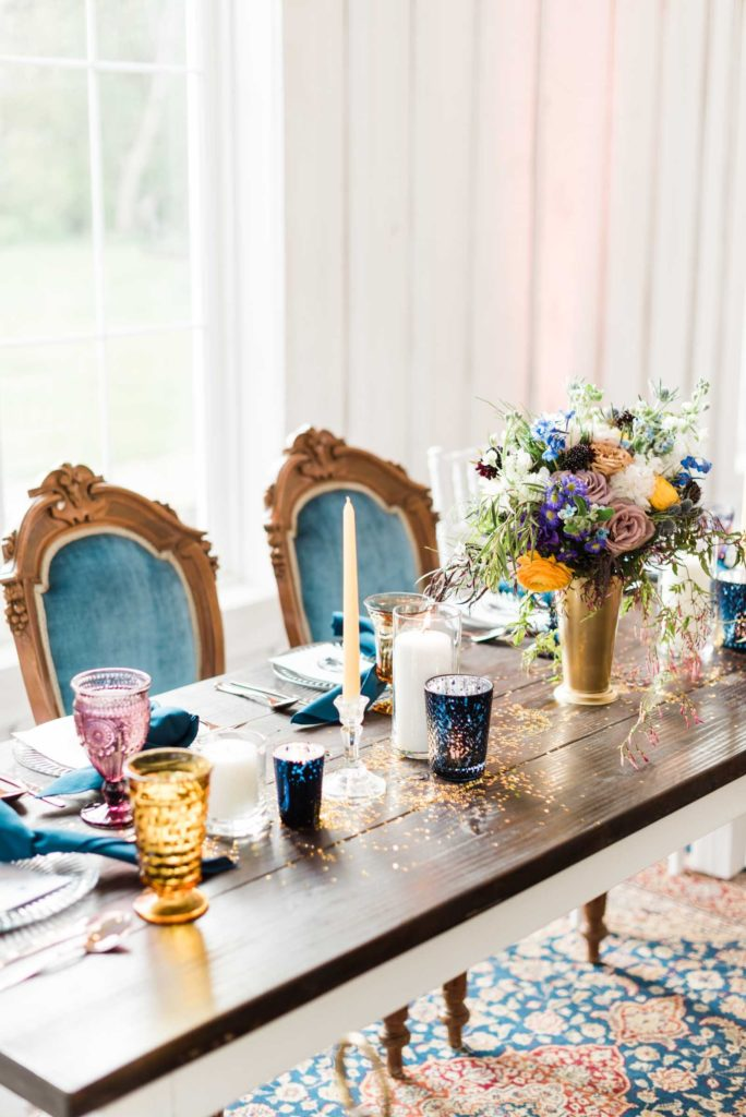 Venue:  Aurora Farms   Photography:  Markie Walden   Event Planning:  Harmony Weddings and Events   Specialty Rentals by  Greenhouse Picker Sisters   Flowers by:  Teacup Floral