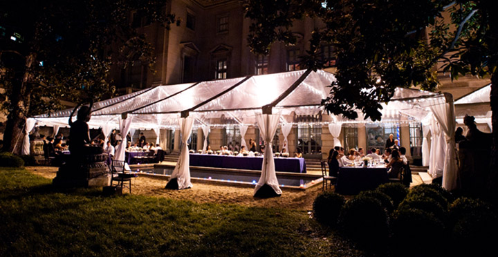 Incredible event tents from  C and E Rentals