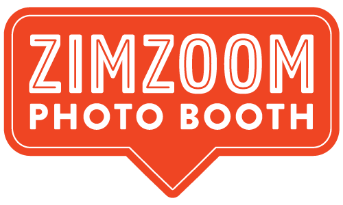 take your new favorite selfie at the  ZimZoom photo booth