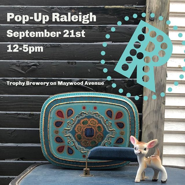 We are still smiling and feeling the love from our first market! Some of our favorite artists will be participating in this weekend's @popupraleigh at @trophymaywood near the farmer's market (swipe to see who). This is a monthly art & vintage market that is FREE, so if you missed @thecarolinaweddingmarket (or didn't buy something you now NEED), swing by 12-5pm this Saturday, Sept. 21st. There will be food trucks, local art, vintage clothing & accessories, beer, dogs, jewelry, candles and live music from the @ligonband . Pop-Up Raleigh is a family (and dog) friendly event. ❤️ #raleigh #popupraleigh #greenhousepickersisters #thecarolinaweddingmarket #shoplocalraleigh #2020brides #favors #wedding2020 #trophymaywoodevents #craftbeer #foodtrucks #raleighswag #sharethelove #vintagenc #handmadenc #loveislove #ligonbands