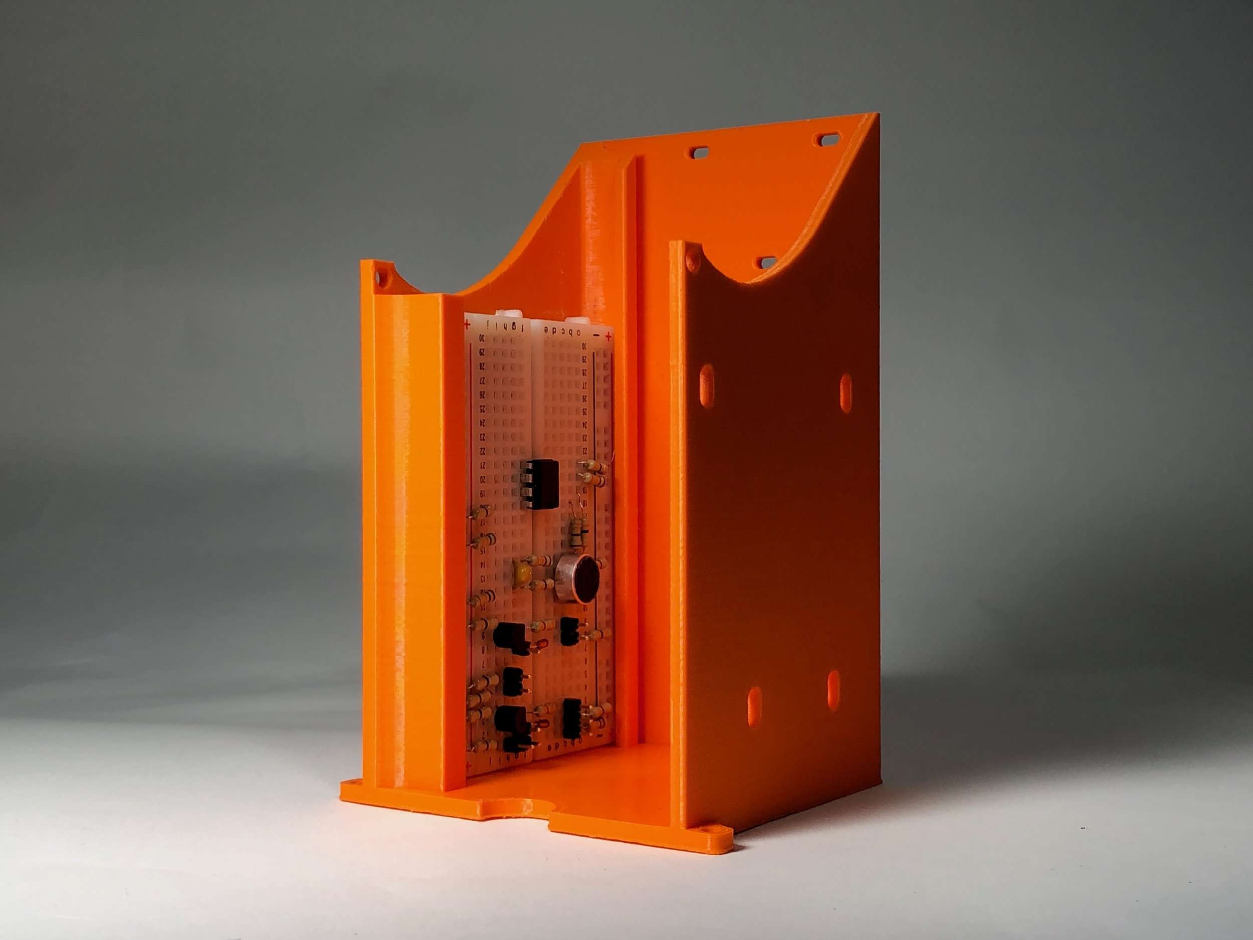 PLA - Simple. Brittle. Low Temperatures.A biodegradable thermoplastic. It has a heat deflection temperature of 40 degrees Celsius. PLA has a high stiffness and good detail. It is by far the most affordable 3D print material.