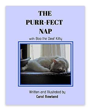 The Purr-fect Nap - https://www.amazon.com/Purr-fect-Nap-Carol-Rowland/dp/0464955068/ref=sr_1_2?qid=1555632179&refinements=p_27%3ACarol+Rowland&s=books&sr=1-2&text=Carol+Rowland
