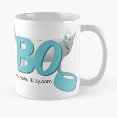 Boo the Deaf Kitty Mug - https://www.redbubble.com/people/boothedeafkitty/works/28113327-boo-the-deaf-kitty-com?cat_context=u-mugs&grid_pos=10&p=mug&rbs=c0c94a7b-b9e4-4f7e-aed7-a362b6a4ec25&ref=shop_grid&style=standard&searchTerm=boo%20the%20deaf%20kitty%20mugs
