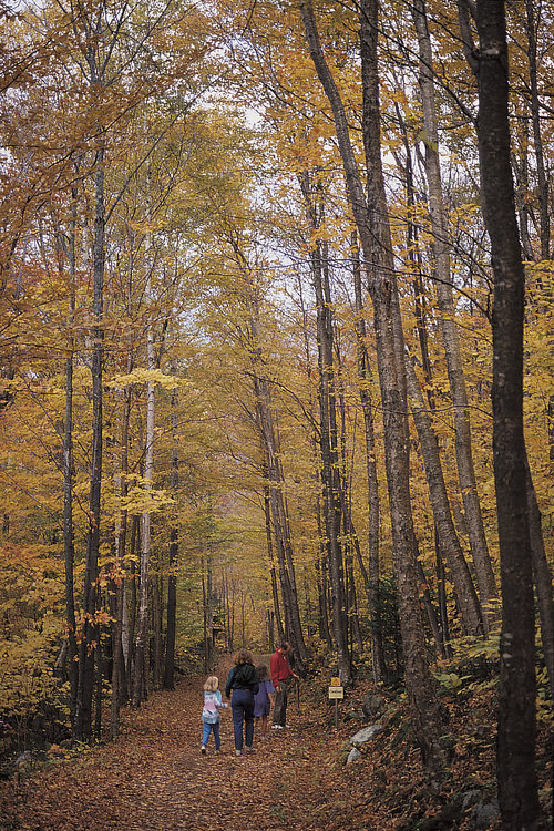 Waterville Valley has one of the oldest public  hiking  networks in America