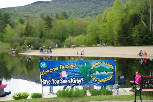 Grab your parents and tackle and head to the shores of Corcoran Pond for a fishing derby!