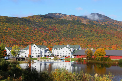 Make it a weekend getaway to New Hampshire's White Mountains. Guests who book overnight stays at participating Waterville Valley lodging properties receive a Freedom Pass which provides access to canoe and kayak rentals, tennis, golf, bike rentals, admission to the White Mountain Athletic Club's aquatic and fitness center, scenic chairlift rides up Snows Mountain, and complimentary trolley rides – over $100 value per person, per day.