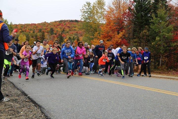 12thAnnual Fall Foliage Foot Race benefits Doug DiCenzo Camp Fund
