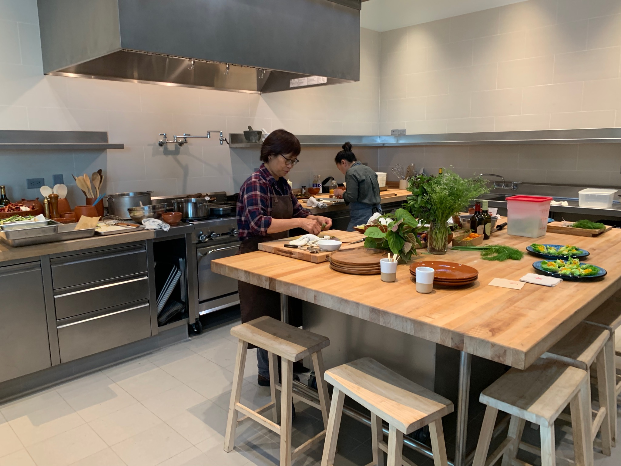 The Commercial Kitchen