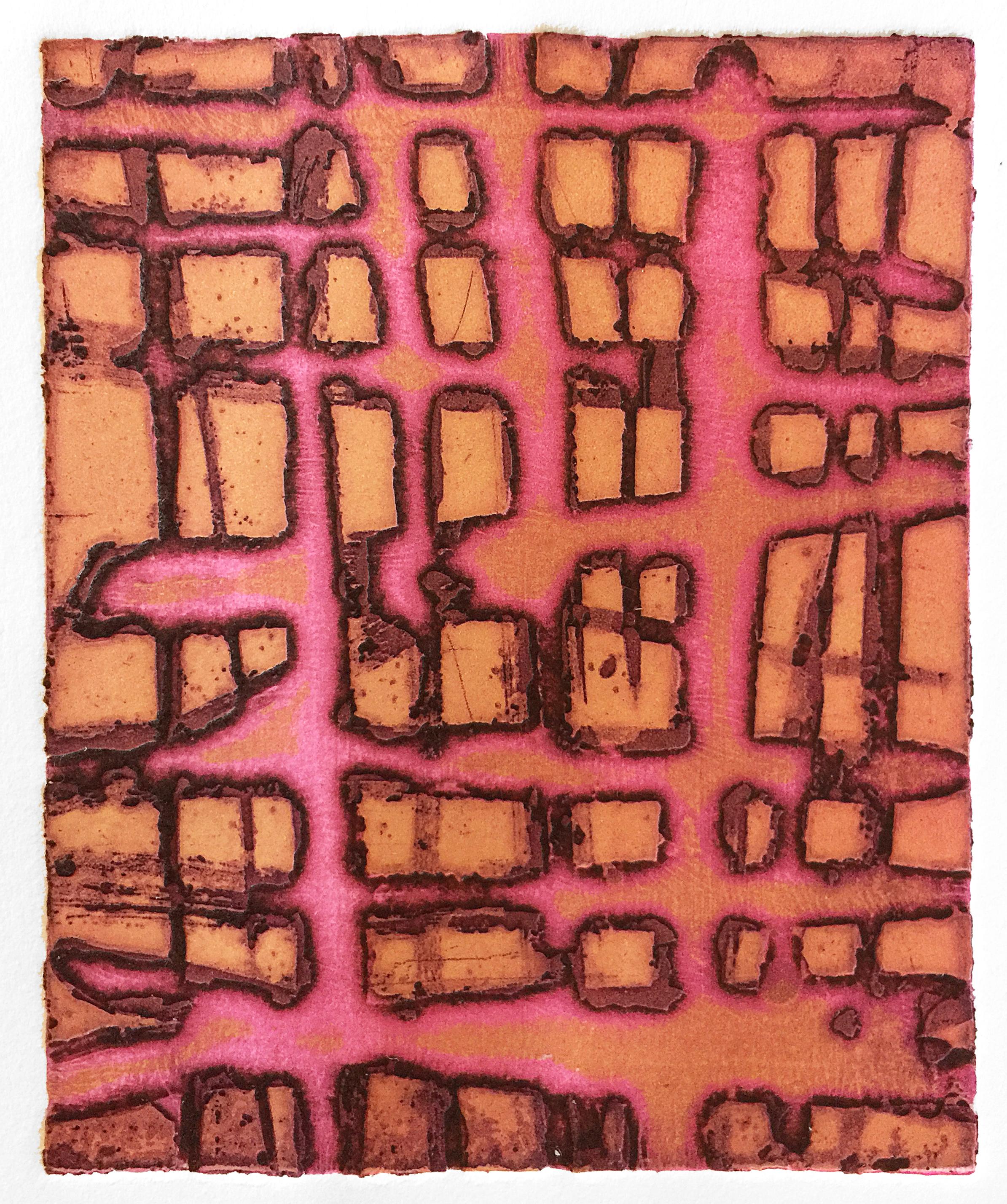 Pink Sticks (Night Spirits), 2018