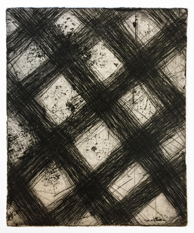 Diagonal Grid (Nocturnes), 2018