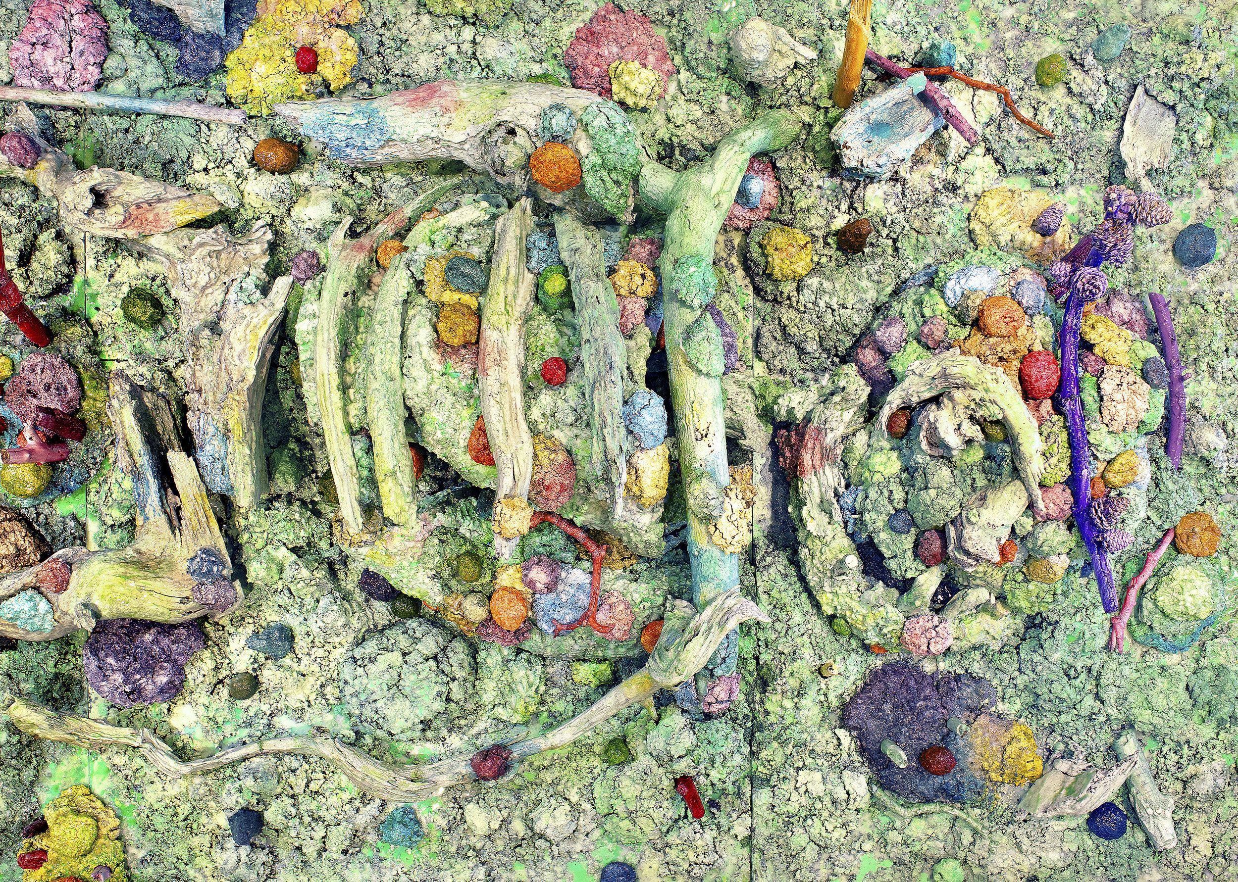 Detail: Fleur du Mal (Giant), 2019