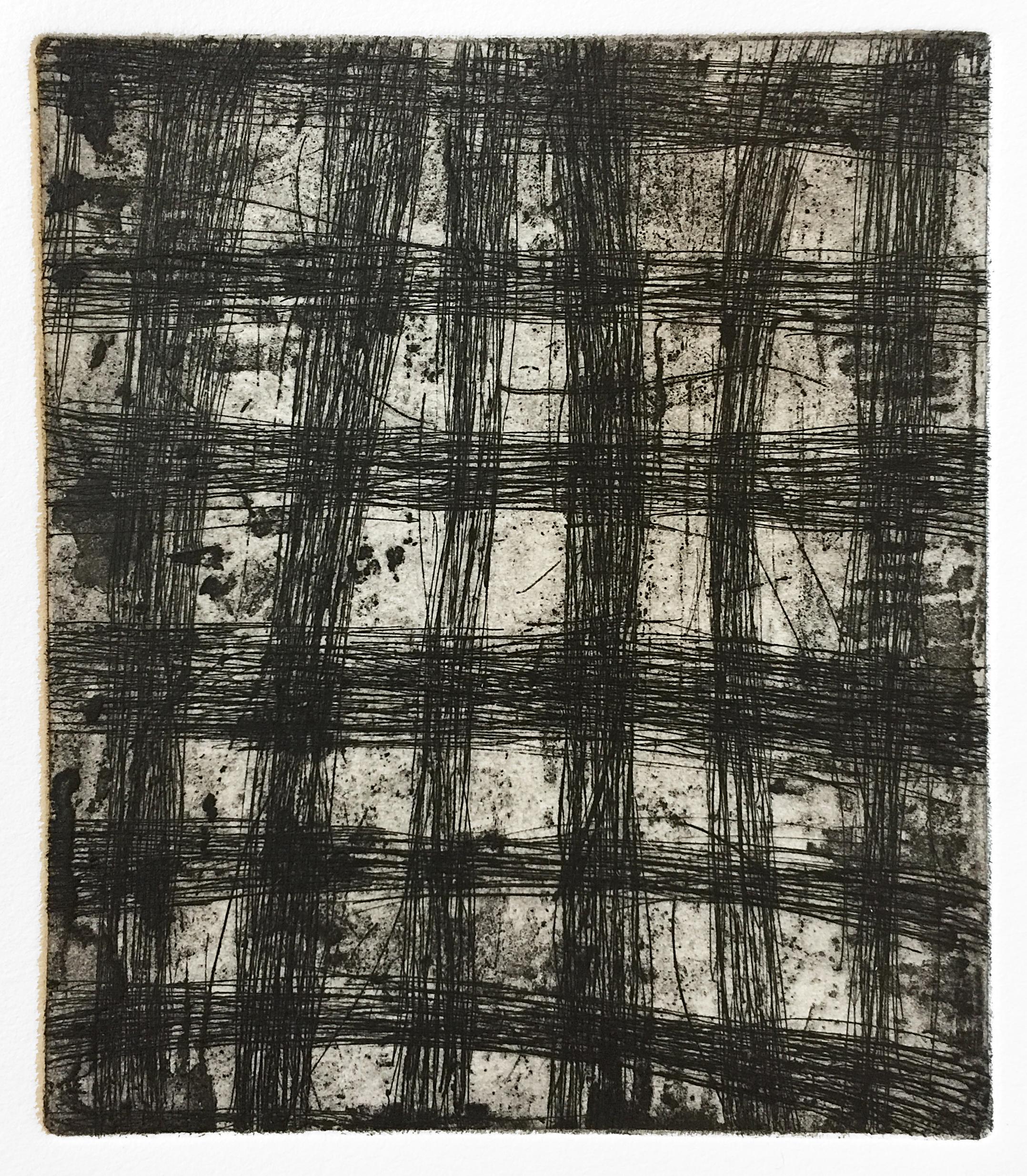 Thick Grid (Nocturnes), 2018