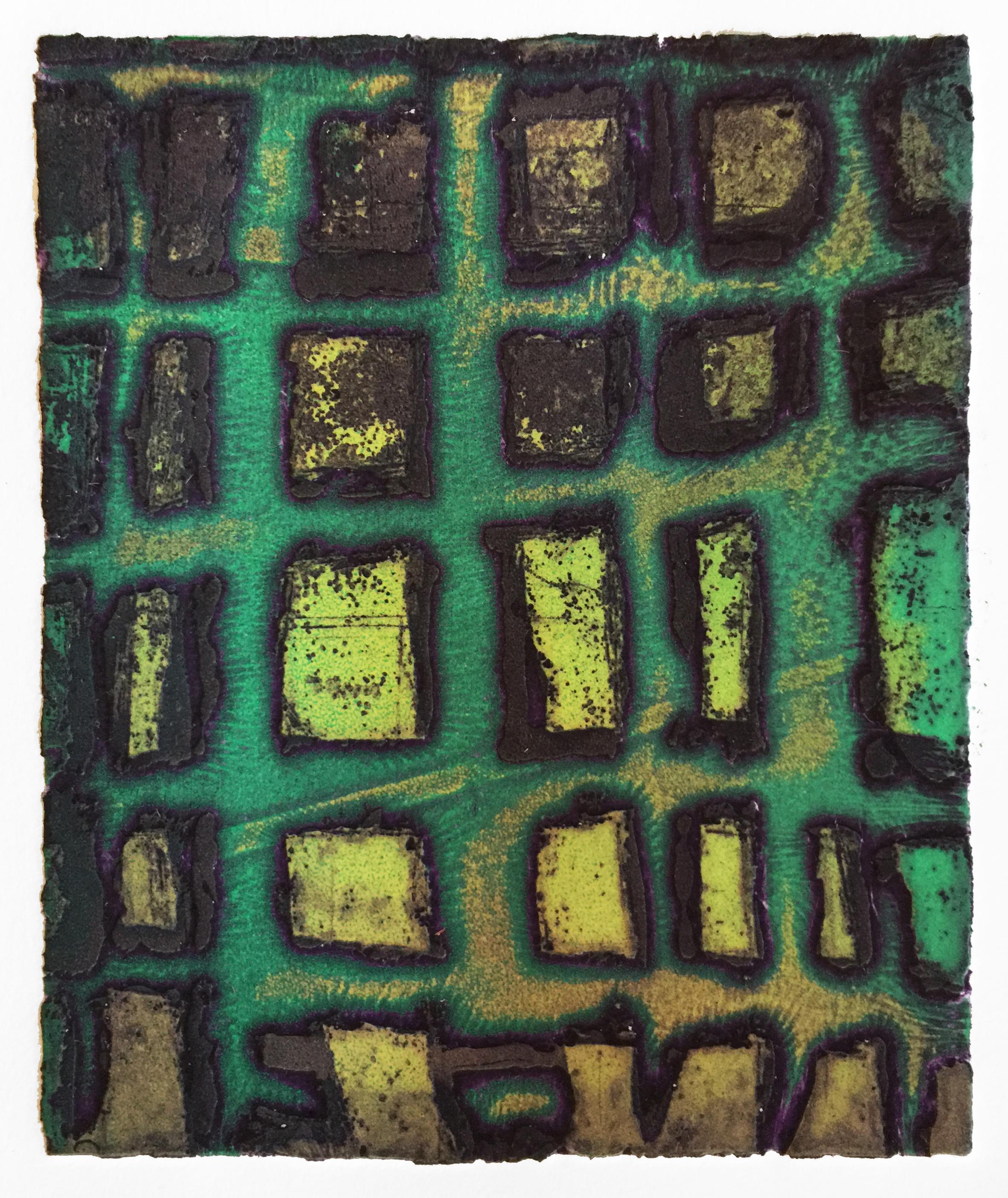Green Weave (Night Spirits), 2018