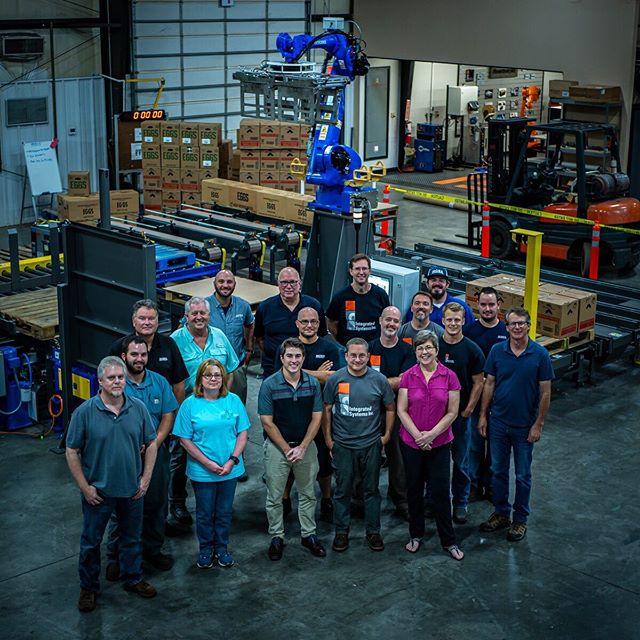We had a great time hosting our friends from Moba for a week of sales and service training. We love building these systems, but we also love teaching our customers how to get the most out of them!  #inventeveryday