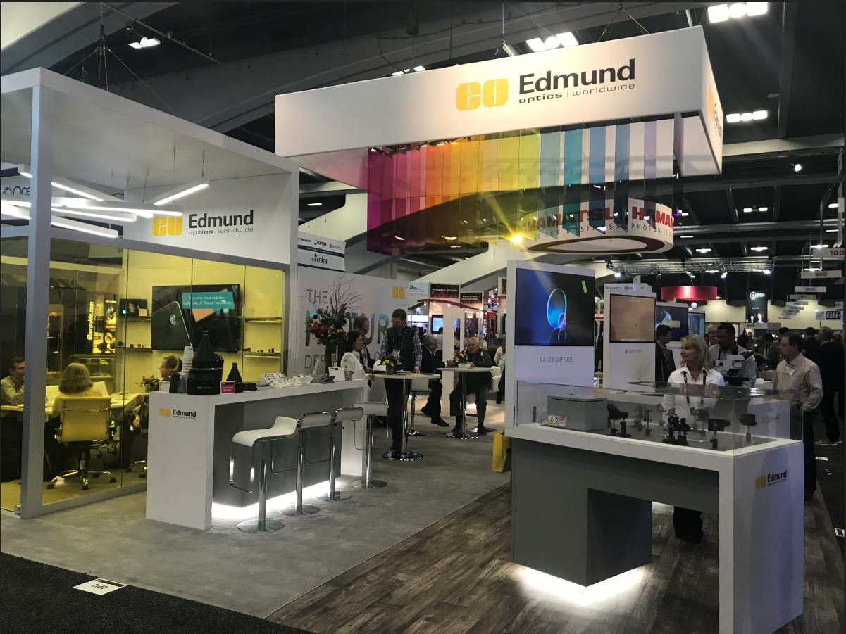 edmund optics trade show booth
