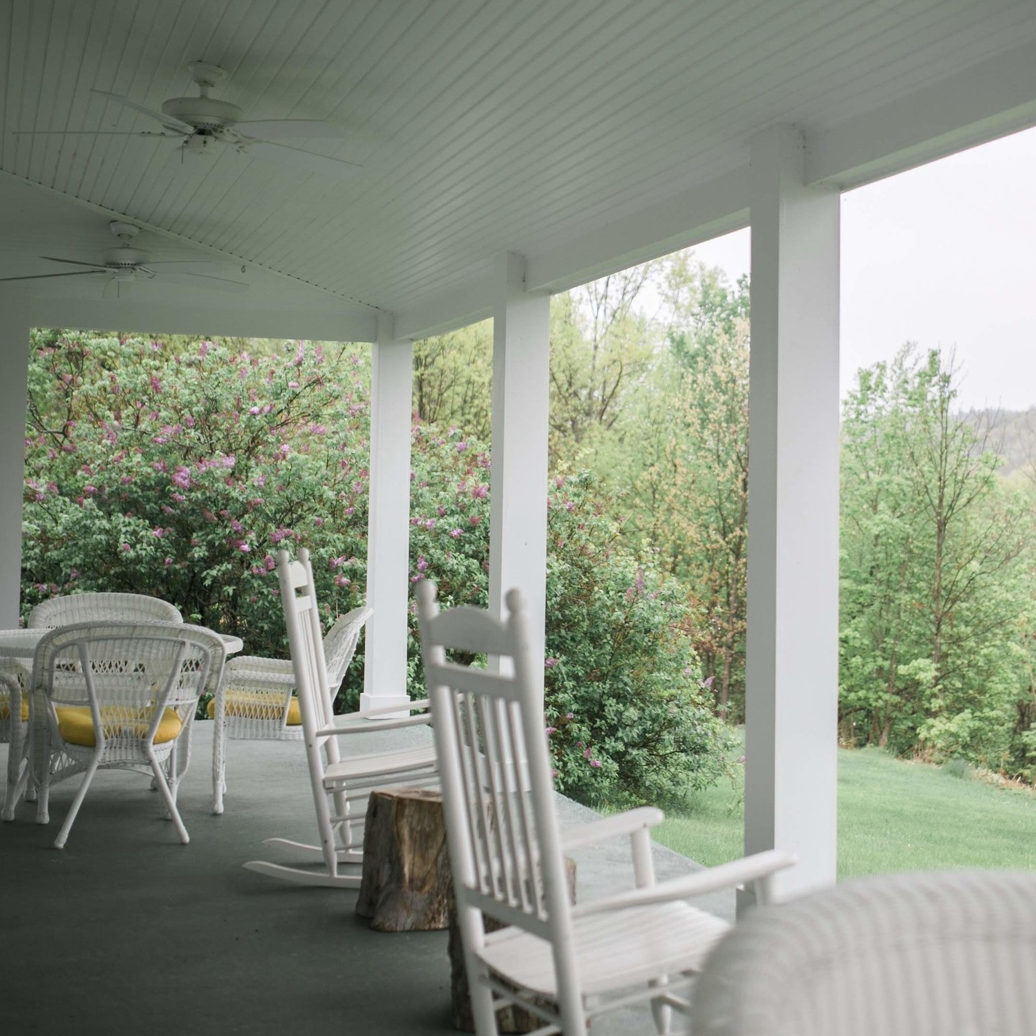 Farmhouse Back Porch