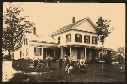 "In 1850 ""Central Dairy"" where the Walpole family took over from the Miller family."