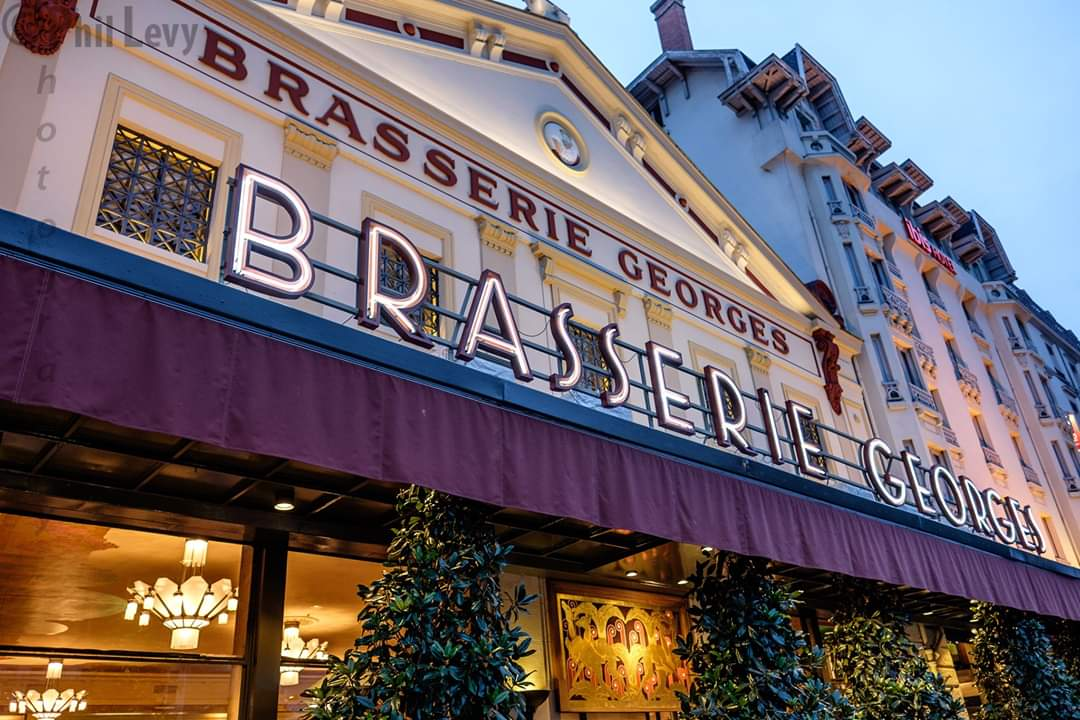 Anyone visiting Lyon should not miss out on the bravado of  Brasserie George .  Credit: Phil Levy www.phillevy.co.uk