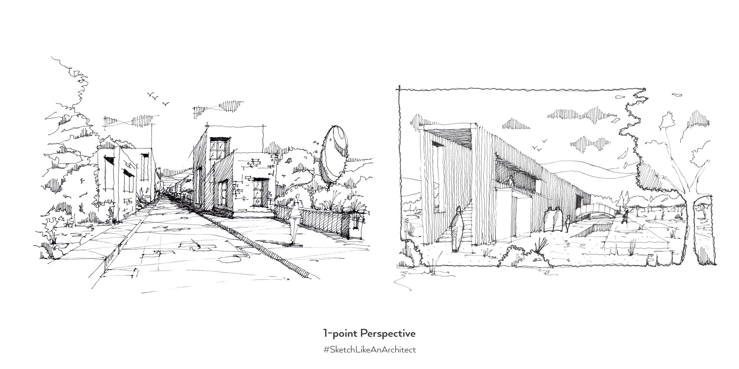 What Type of Perspective Should You Use — Sketch Like an Architect