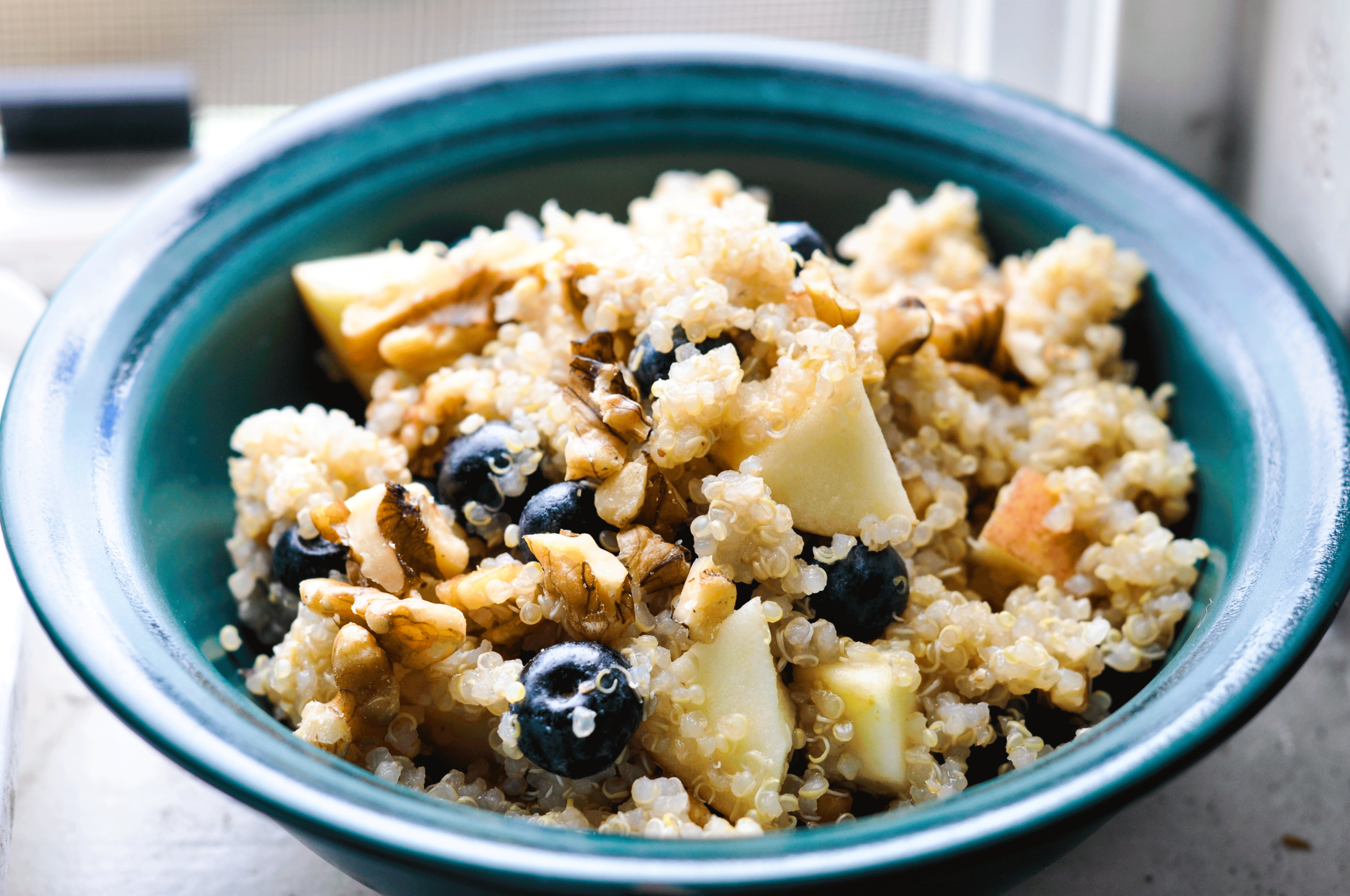 Busy Babe Quinoa Breakfast - For Champions on the go!