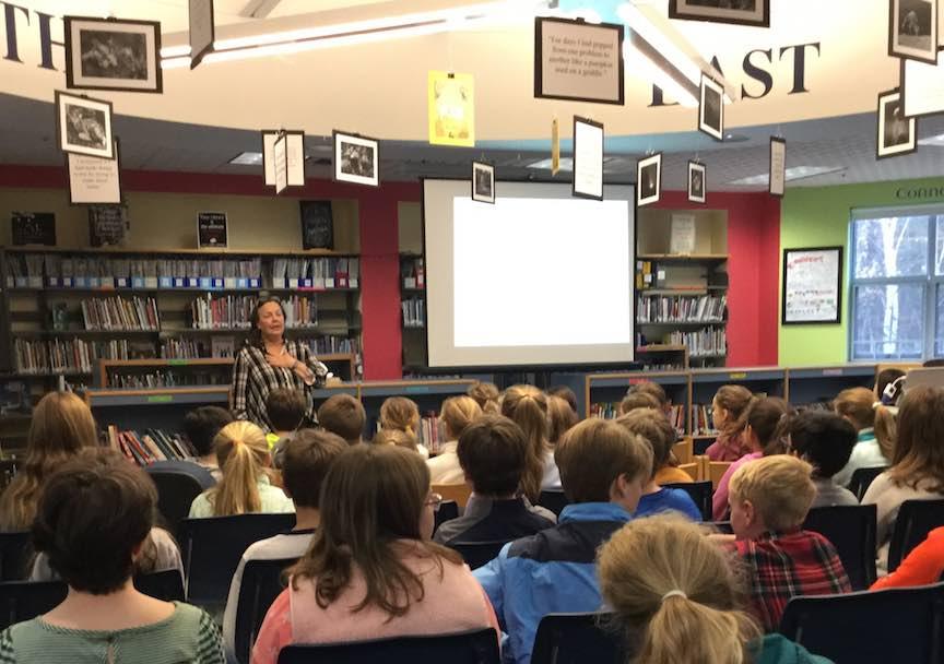 Lauren Wolk, Harrison Middle School