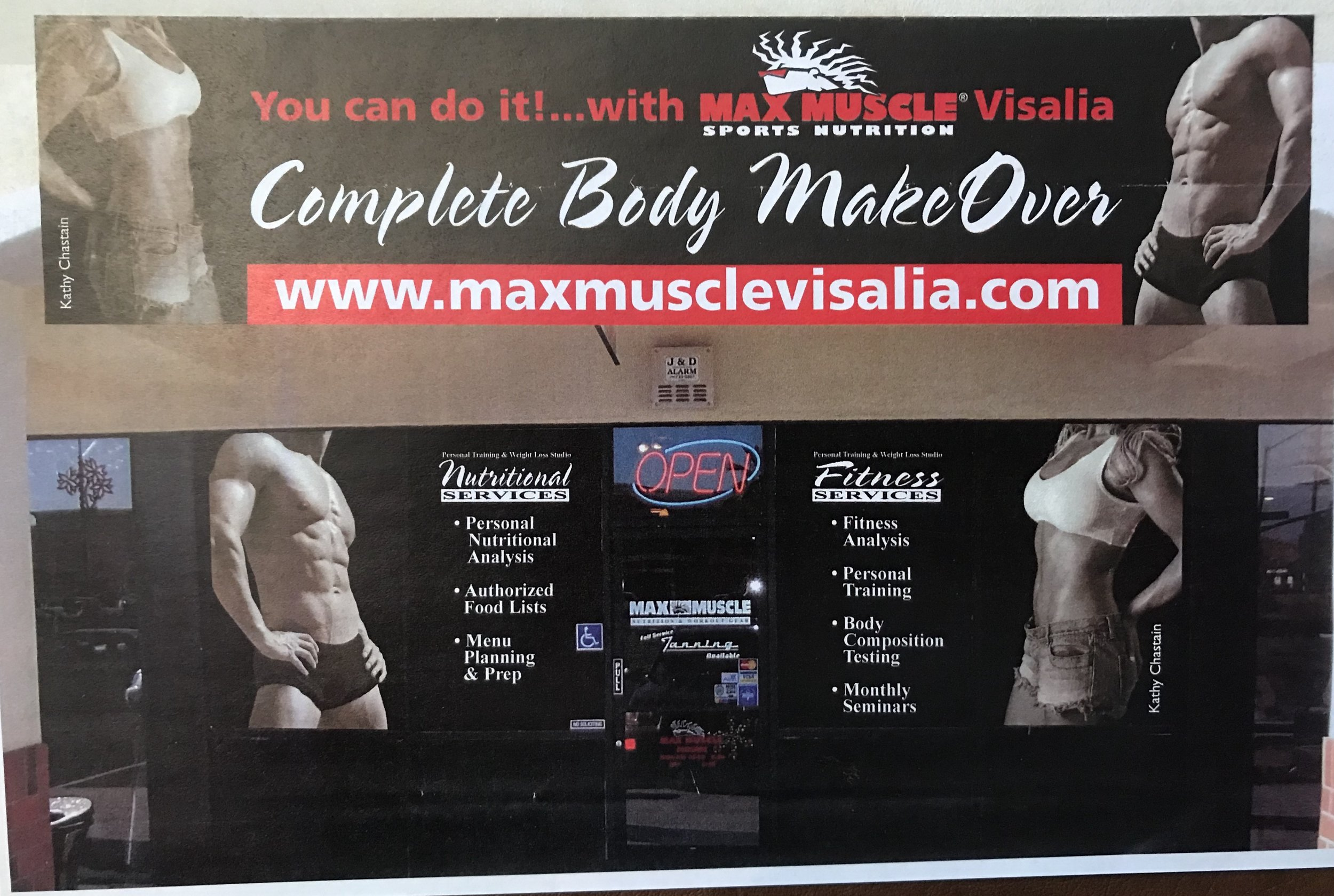 Max Muscle Visalia-Tulare - Built, Owned & Operated Max Muscle Sports Nutrition stores in both Visalia and Tulare. Previously owned Fresno location.Produced the first NPC Max Muscle Body Building Show in Fresno California and ran for three consecutive years. Brought the top names in Body Building to the Stage during our duration, including 8x Mr. Olympia Ronnie Coleman.Worked as a Fitness Model for Max Muscle & Gaspari Nutrition.