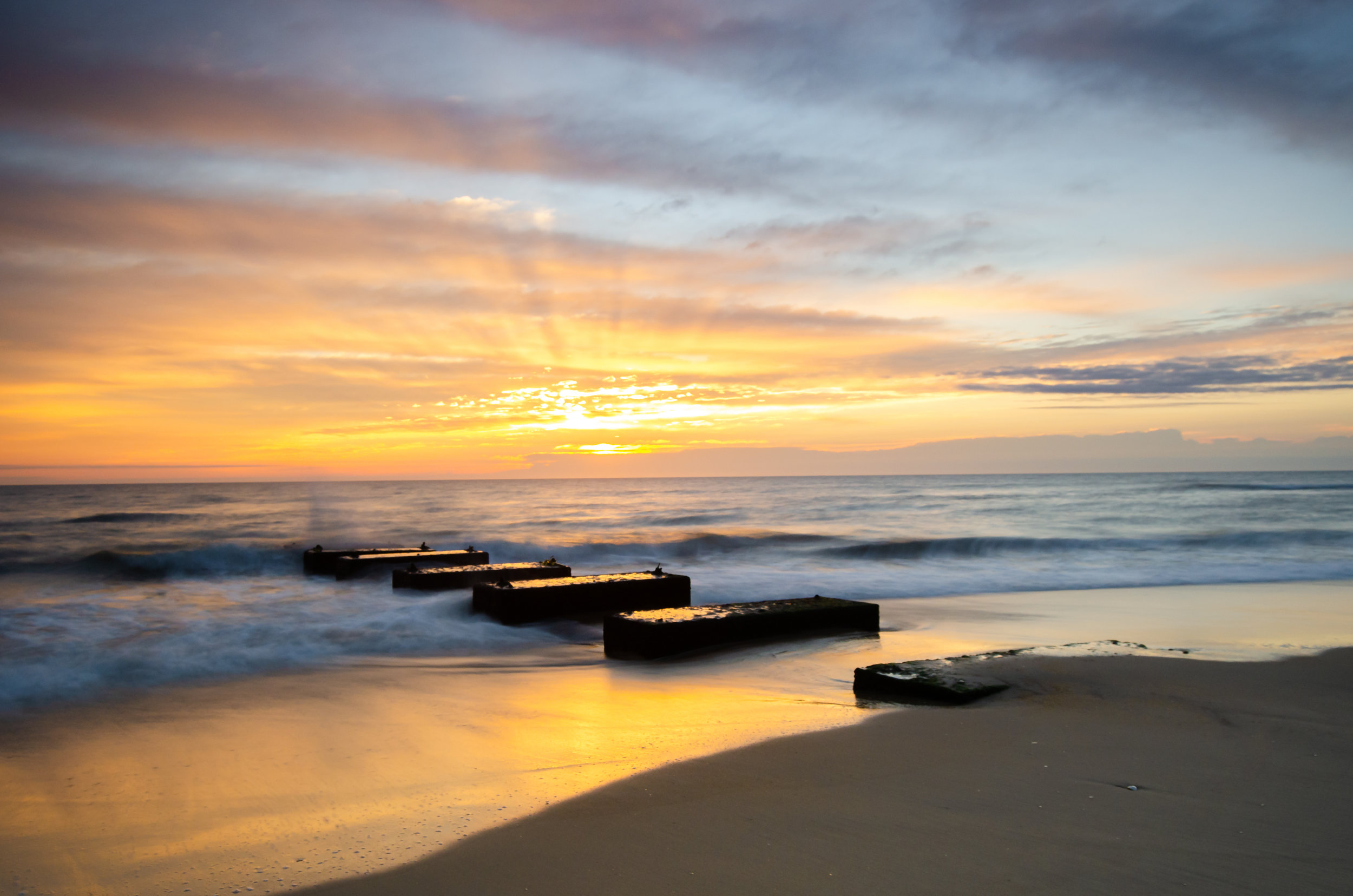 Nags Head-sunrise-blocks-beach-OBX-Outer Banks-sunset-North Carolina.jpg