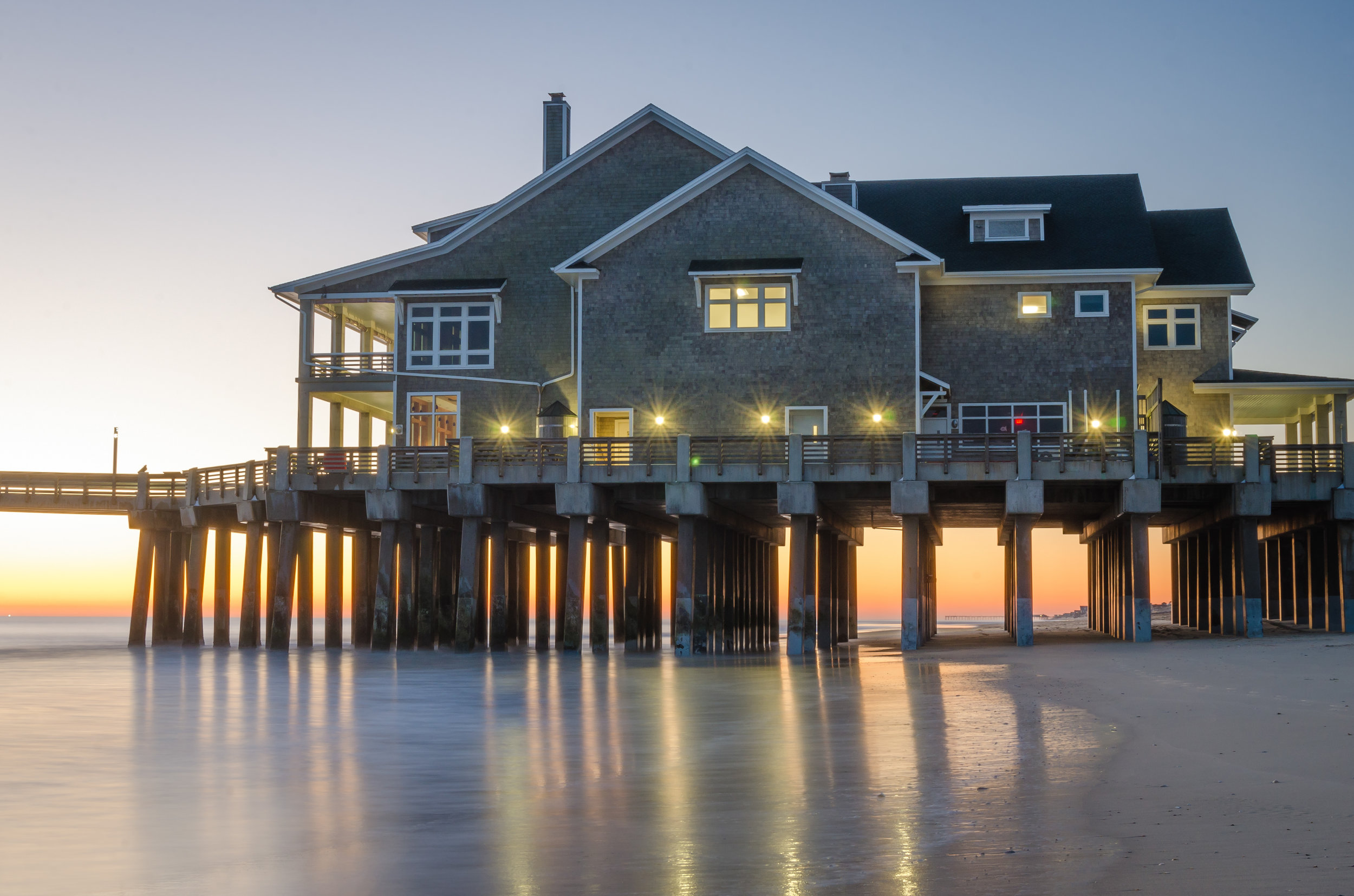 Jennettes Pier-Nags Head-Outer Banks-OBX-North Carolina-sunrise-dawn-reflection.jpg