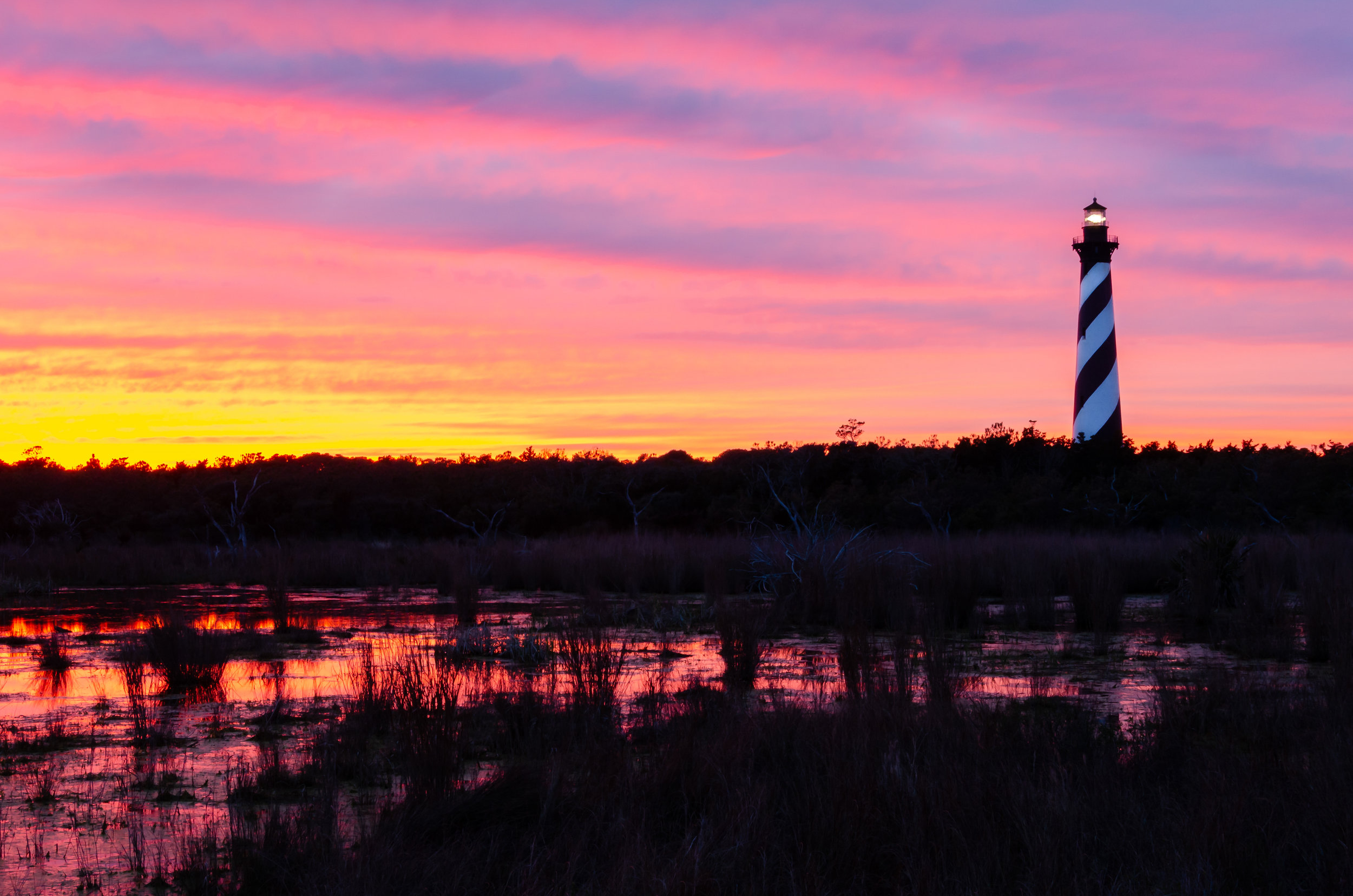 Sunset at Cape Hatteras Lighthouse on the Outer Banks of North Carolina.jpg