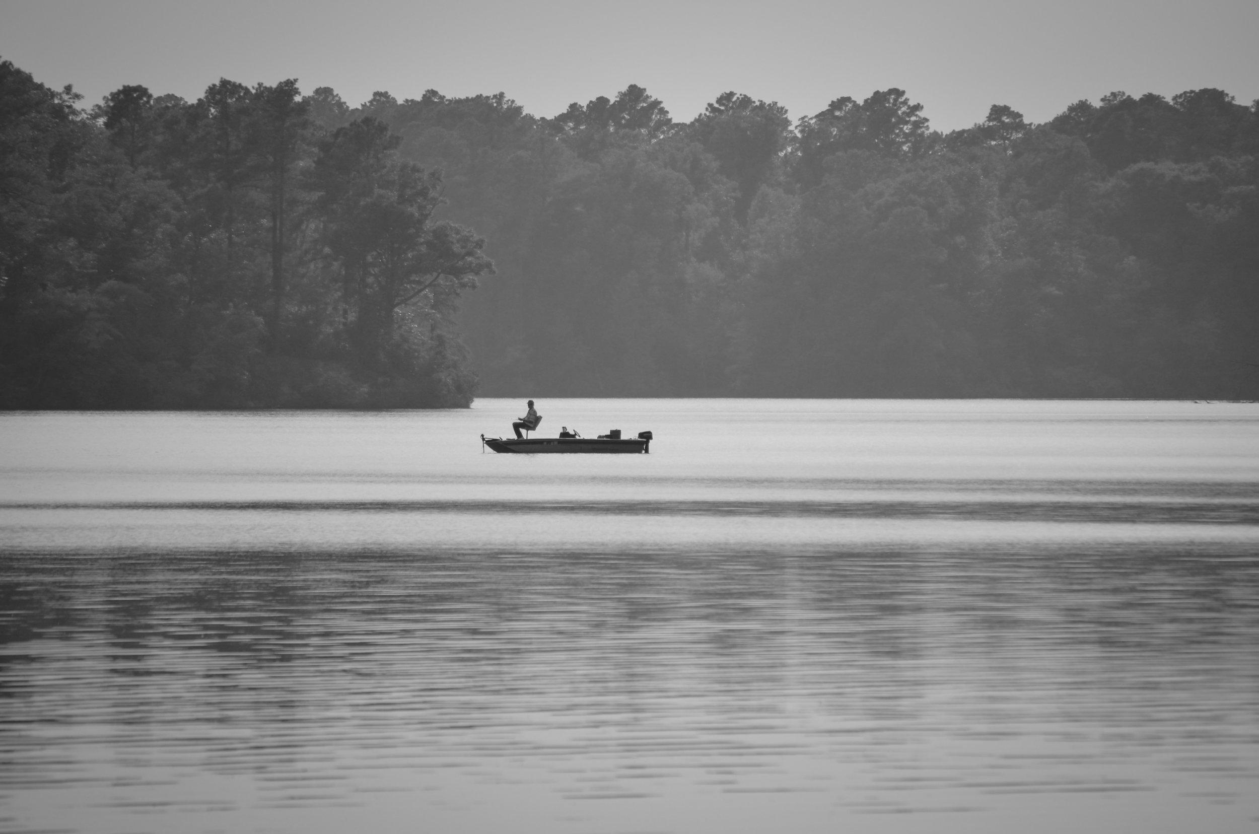 black and white-fishing-lake burnt mills-suffolk-isle of wight county-virginia.jpg