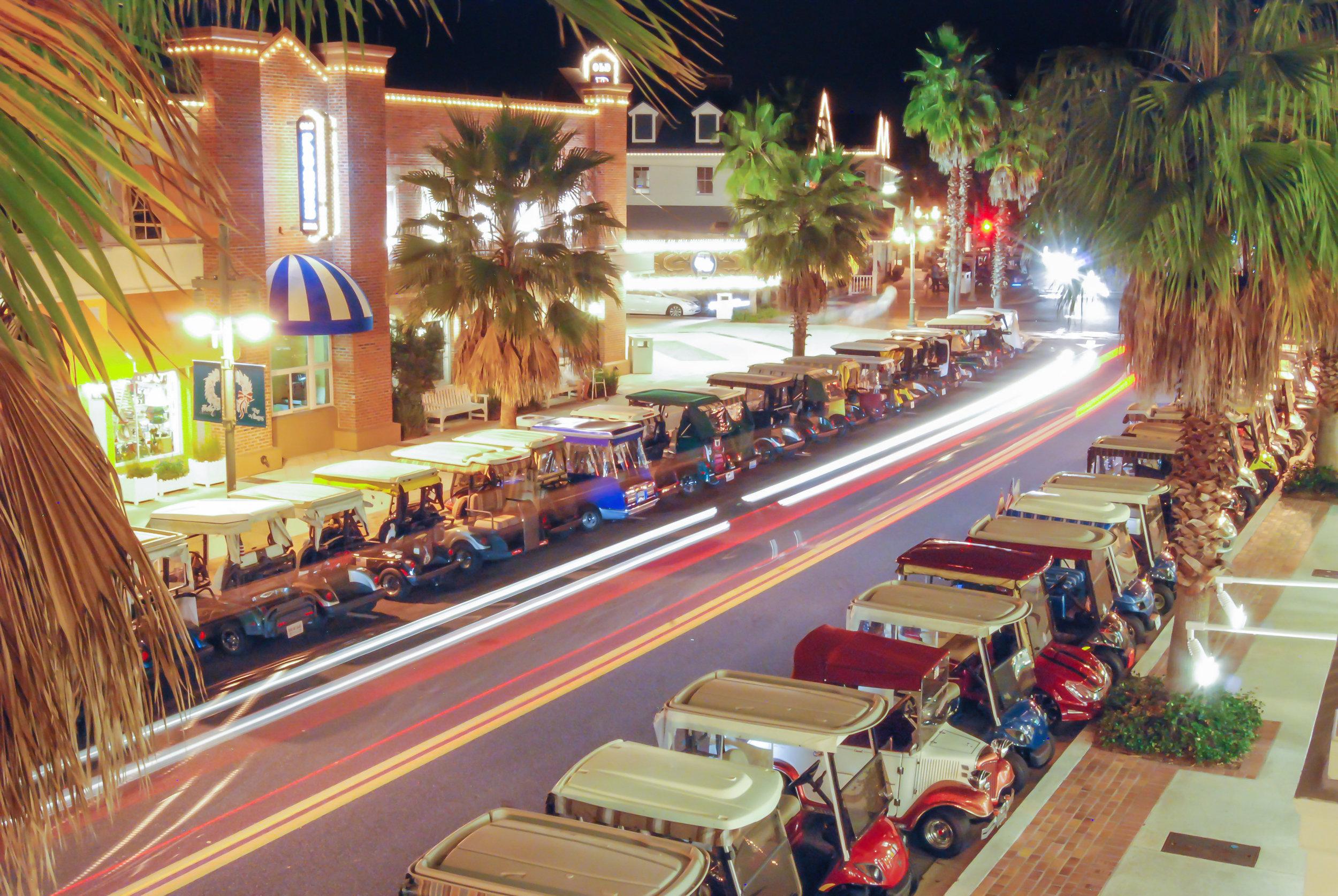 nightlife-the villages-florida-lake sumter-golf carts.jpg