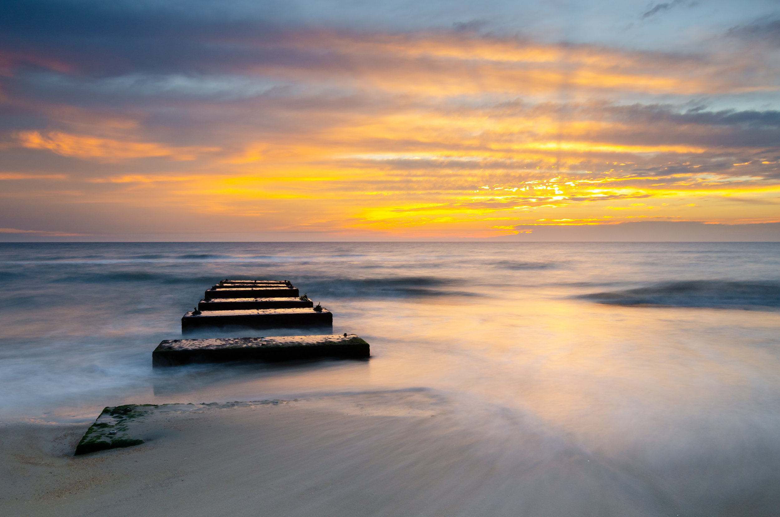 Nags Head-sunrise-blocks-beach-OBX-Outer Banks-North Carolina.jpg